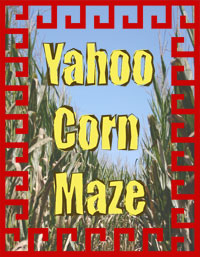 Explore the Yahoo Corn Maze