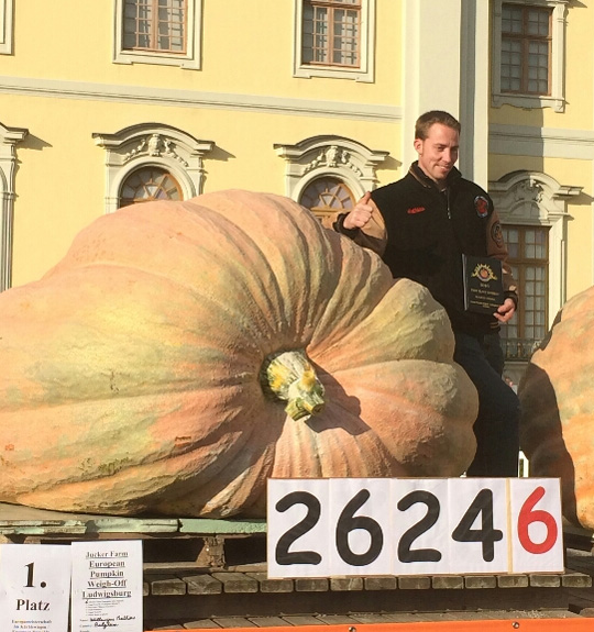 2017 World Record Pumpkin
